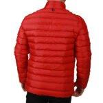Başak-Traktör-Tekstil-Kapitone Polyester Uzun Kol Mont Kırmızı-3