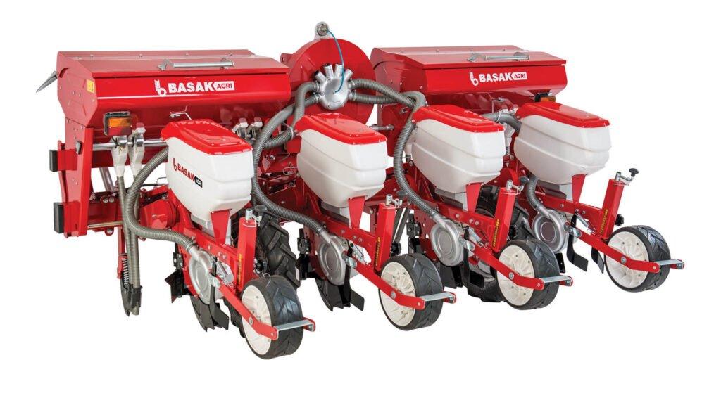 Basak-Traktör-Pnömatik Hassas Ekim Makinası (Balta Ayaklı)