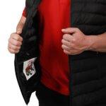 Başak-Traktör-Tekstil-KKapitone Polyester Yelek Mont Siyah-3